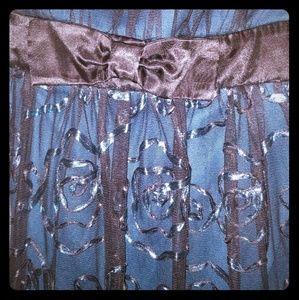 Ruby Rox - Midnight Blue Dress